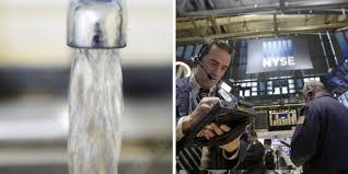 El agua será cotizada en el mercado de Wall Street