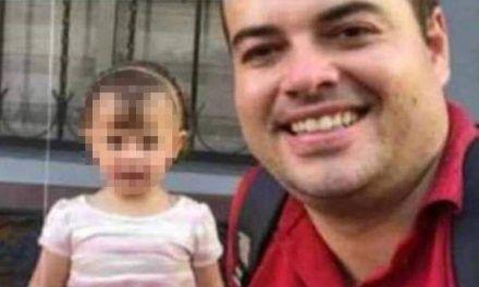 Hallan el cuerpo sin vida de Sofía, bebé asesinada por su padre