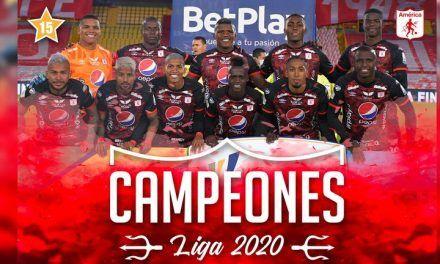 América conquista su estrella 15 y es bicampeón del fútbol colombiano