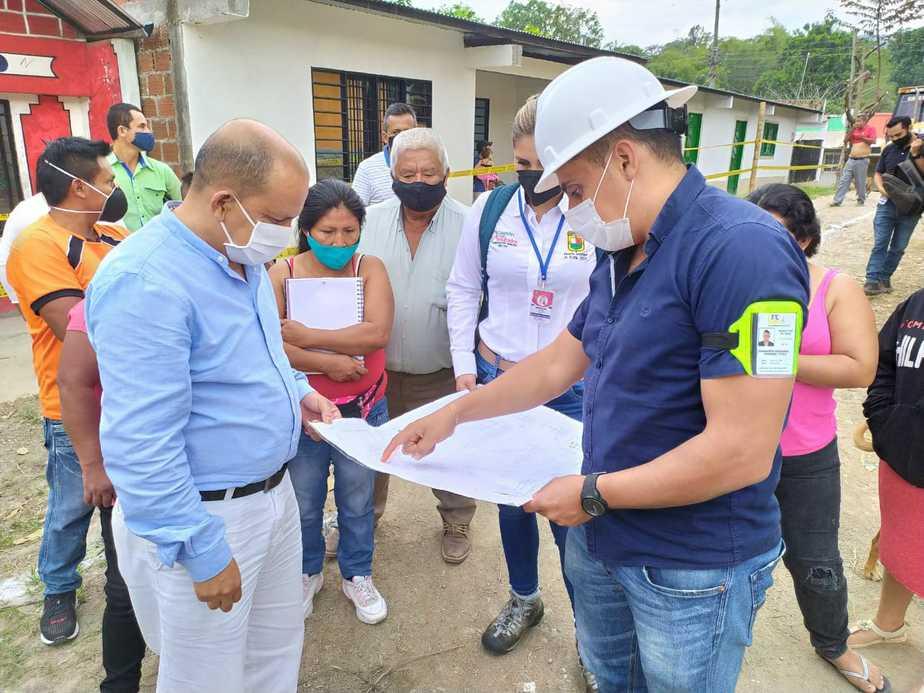 El alcalde ha estado vigilante de todos los proyectos que se ejecutan en el municipio.