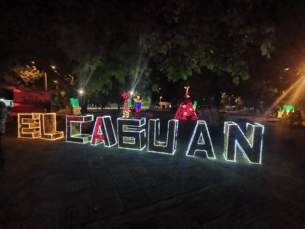 El Caguán fue uno los sitios en donde se decoró la navidad.