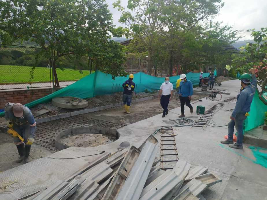 Anaya ha continuado y terminando las obras ejecutadas por la anterior administración.