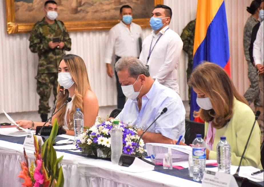 Ortigoza lideró el primer foro 'No más violencia empodérate mujer', el cual tuvo la presencia de la vicepresidencia de la república, Marta Lucía Ramírez e invitados nacionales.