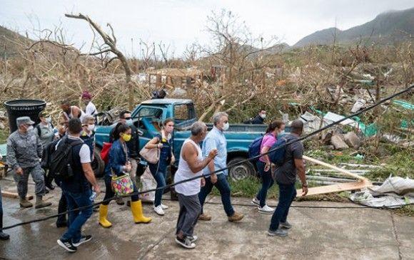 Denuncian a soldados de robar ayudas de San Andrés y Providencia