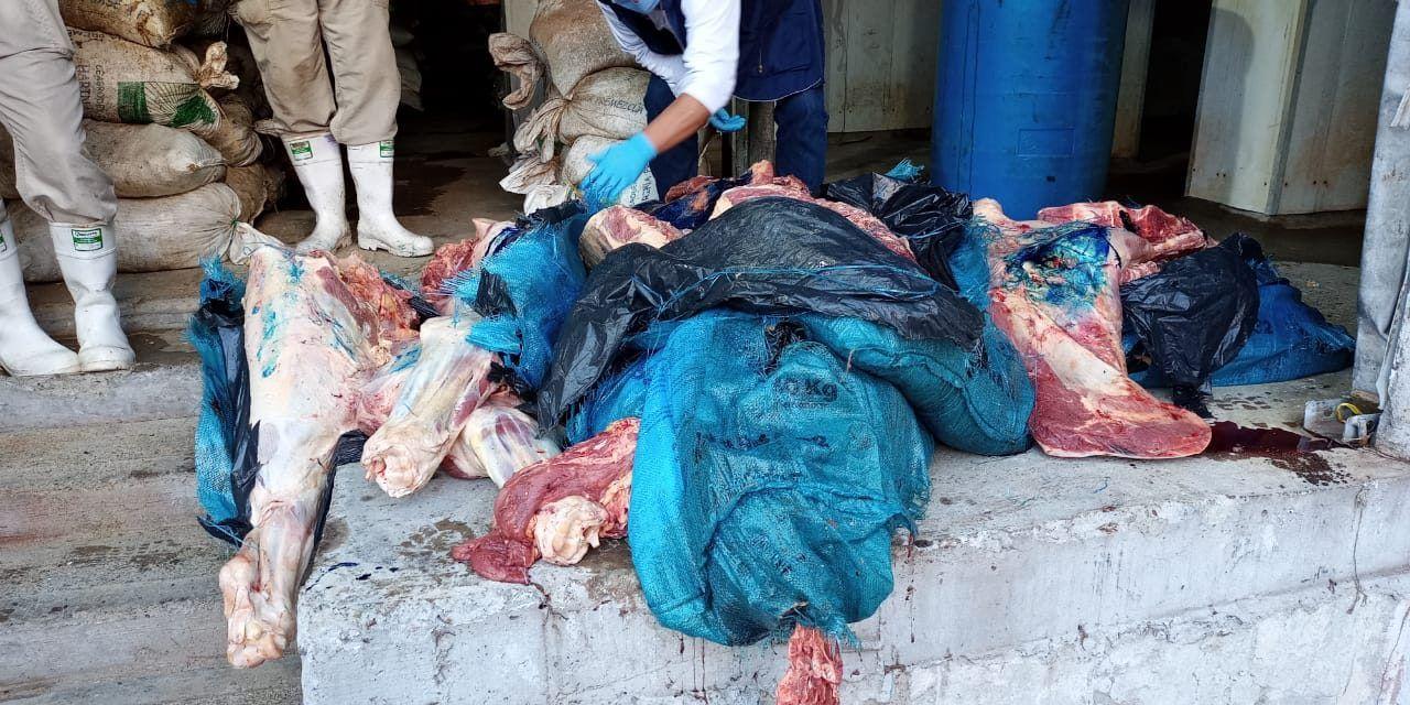 Decomisaron carne de dudosa procedencia en Neiva