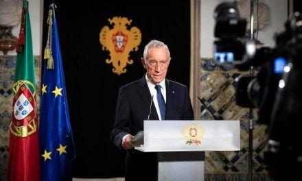 Presidente de Portugal da positivo por coronavirus