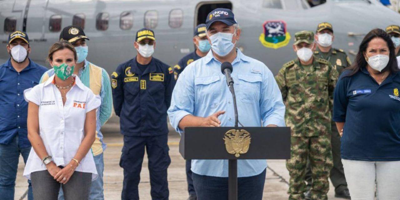 Duque: No existe evidencia de cepa británica de COVID en Colombia
