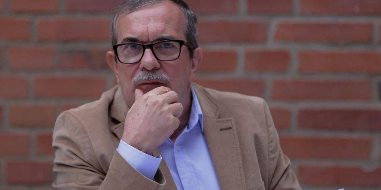 Rodrigo Londoño denunció que reducirán su esquema de seguridad