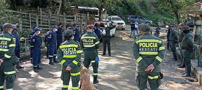 Menor de 4 años desaparecida en Caldas, fue encontrada sin vida