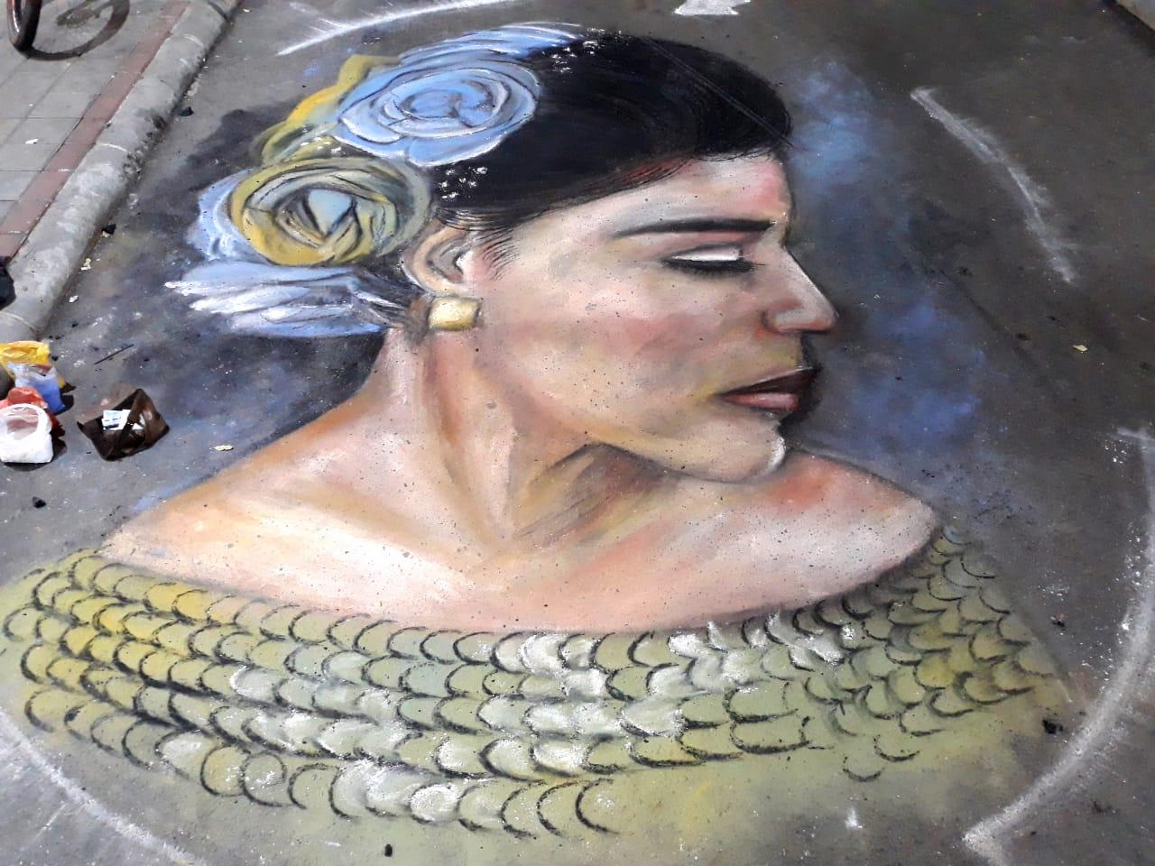 El pintor expresa que la civilización tiene un problema y no lo han entendido del todo.