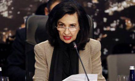 Canciller Claudia Blum dio positivo para coronavirus