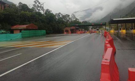 Suspenden aumento de tarifas en peajes vía Bogotá – Villavicencio