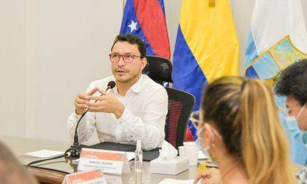 Gobernador del Magdalena, positivo para Covid-19