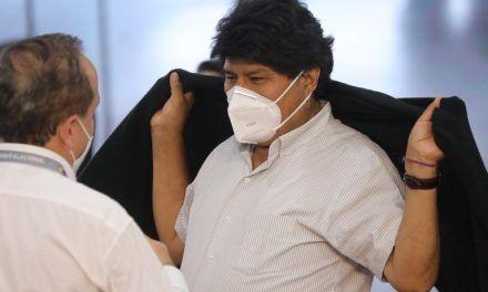 Evo Morales dio positivo en COVID-19