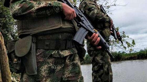 Francotirador asesinó a militar en Arauca