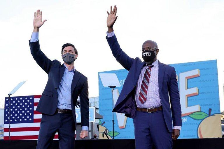 Por el control del Senado de EE. UU.: Cierran los comicios en Georgia