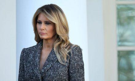 Melania Trump se despidió con un mensaje de reconciliación