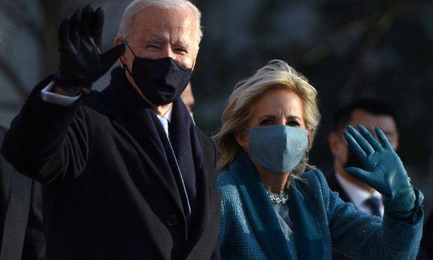 Así se vivió la atípica ceremonia de investidura de Joe Biden