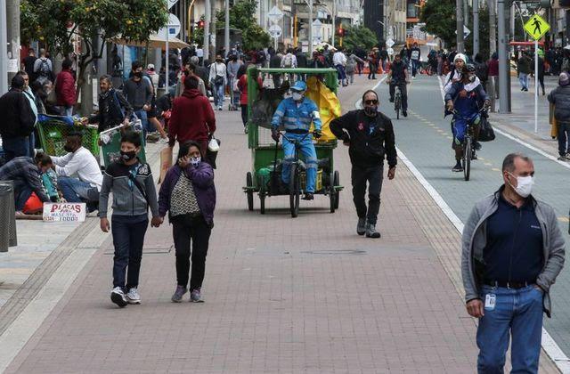 Bogotá sigue liderando como la ciudad como el sitio con más contagios en el país.