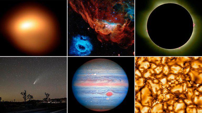 Algunas de las imágenes más espectaculares del 2020 en materia espacial.