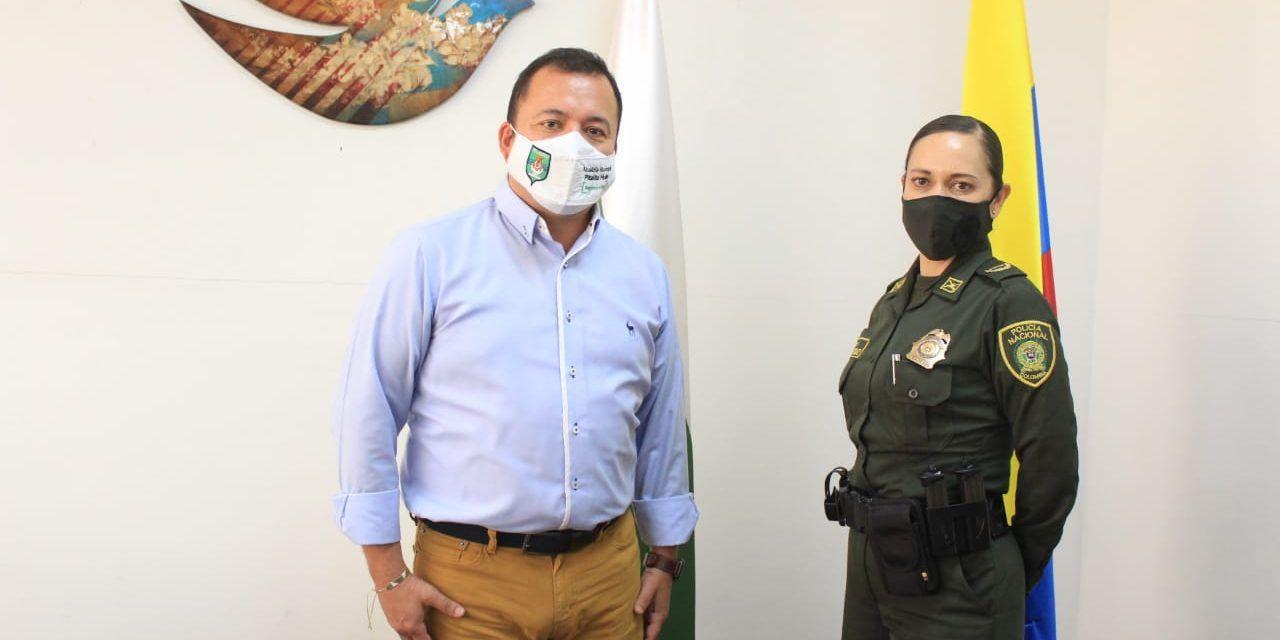 Designada nueva Comandante del Quinto Distrito de Policía en Pitalito