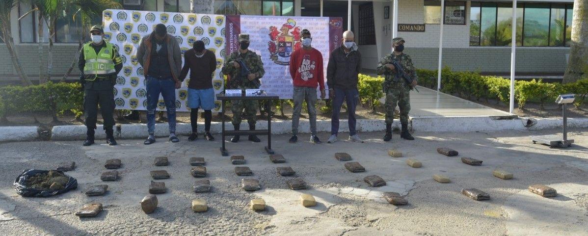 Capturados 4 'polizones' venezolanos con 20 kilos de marihuana