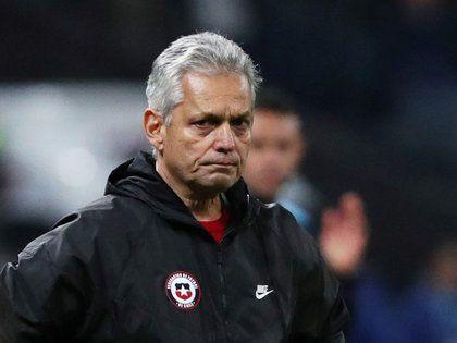 Reinaldo Rueda dejó la selección chilena