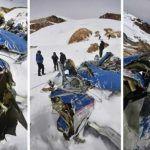 Descubren restos de avioneta en el Nevado del Huila