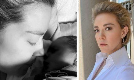 Actriz Fernanda Castillo por poco muere tras complicarse en el postparto