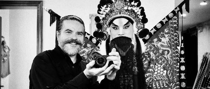 Alexander, el fotógrafo colombiano que triunfa en China