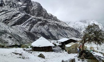 Nevadas en el Parque Nacional Natural El Cocuy