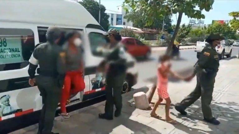 Menores de edad ebrios protagonizan bochornosa fiesta en Cartagena