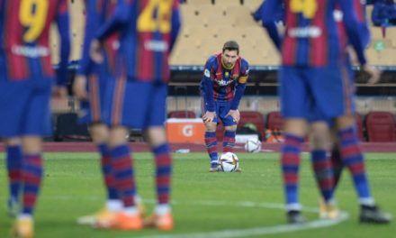 Messi fue sancionado dos fechas, por la tarjeta roja en final de Supercopa