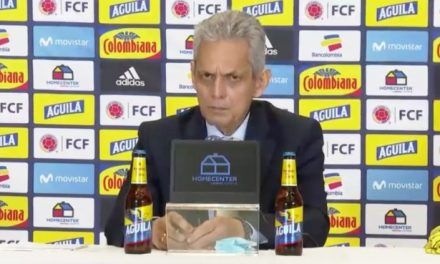 Reinaldo Rueda fue presentado como DT de Colombia