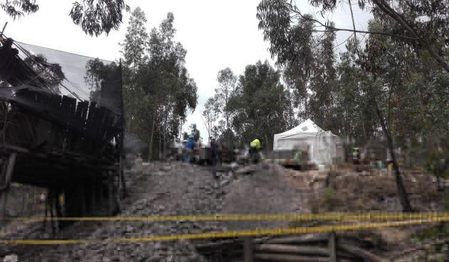 Tres personas fallecieron tras accidente en mina abandonada