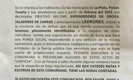 ¿Limpieza social en La Plata?