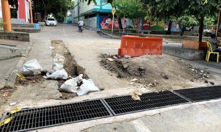 Comunidad exige la terminación de obra en el Bonilla