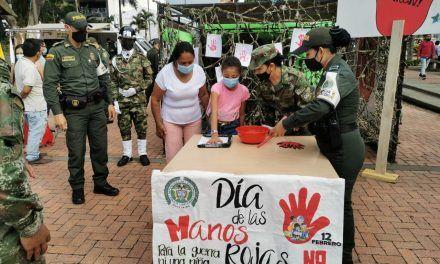 Campaña contra el reclutamiento de menores en el Huila
