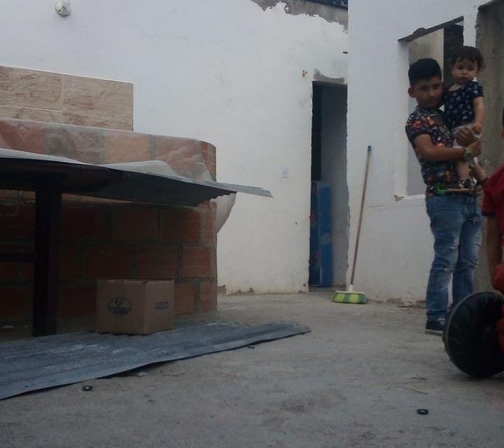 Sin hogar, así se quedó la familia Gutiérrez tras vendaval