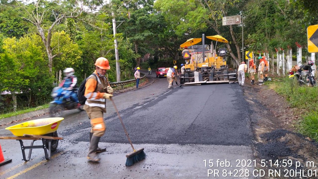 Se está recuperando la Ruta 45 de forma parcial, mientras que a finales de marzo se logra la cesión total del contrato.