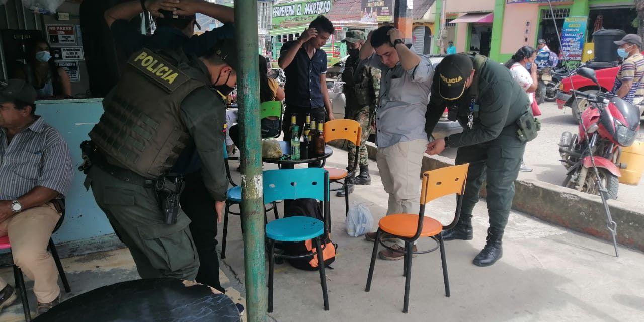 Más de 10 capturas se lograron durante el fin de semana en el Huila