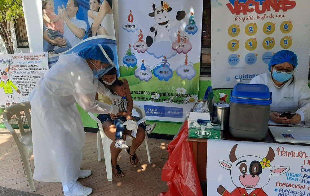 El Huila le cumple al esquema de vacunación regular