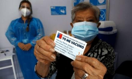 Chile, el país que ya vacunó al 16% de su población en solo 21 días