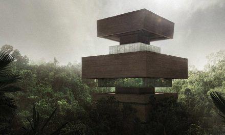 No es un espejismo, es un museo plena jungla mexicana