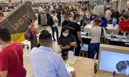 Las ventas del comercio minorista disminuyeron 2,8%