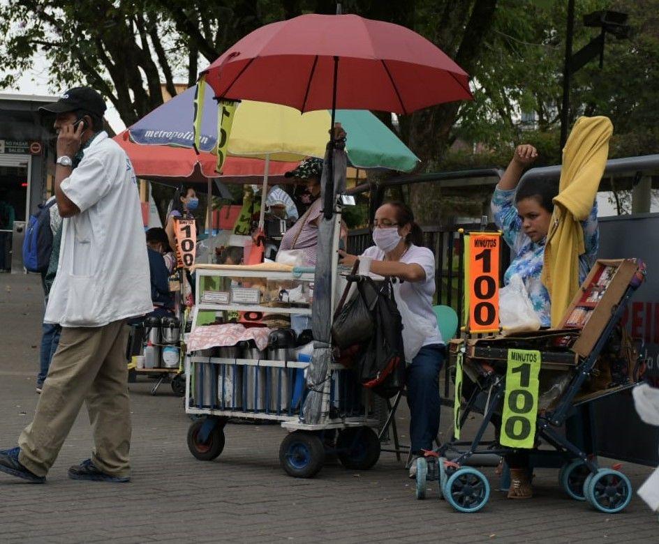 El empleo informal sigue subiendo tanto en el país como en la ciudad de Neiva.