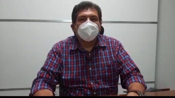 Carlos Alberto Polanía, secretario de Salud Departamental.