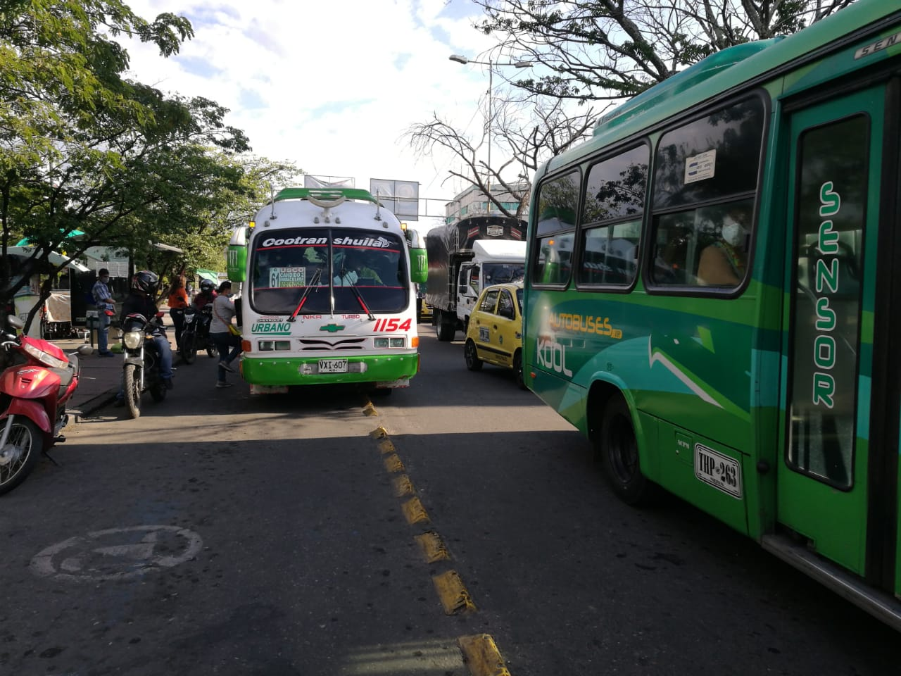 Las agremiaciones de transportadores denunciaron aumento de mototaxismo en la ciudad.