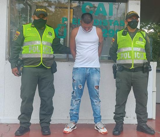 Capturado sujeto que era requerido por las autoridades en Neiva