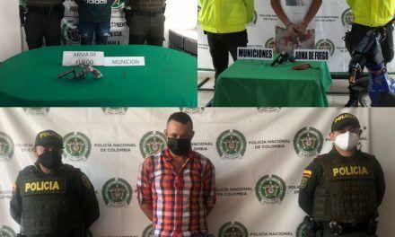 Policía logró la captura de 39 personas durante el fin de semana en el Huila
